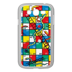 Snakes And Ladders Samsung Galaxy Grand Duos I9082 Case (white) by Amaryn4rt