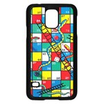 Snakes And Ladders Samsung Galaxy S5 Case (Black) Front