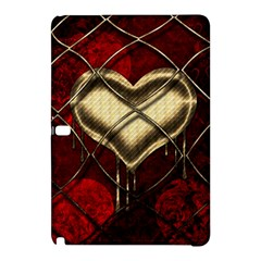 Love Hearth Background Scrapbooking Paper Samsung Galaxy Tab Pro 12 2 Hardshell Case by Amaryn4rt