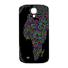World Earth Planet Globe Map Samsung Galaxy S4 I9500/i9505  Hardshell Back Case by Amaryn4rt