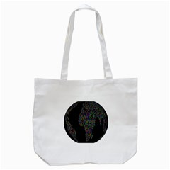 World Earth Planet Globe Map Tote Bag (white) by Amaryn4rt