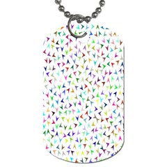 Pointer Direction Arrows Navigation Dog Tag (two Sides)