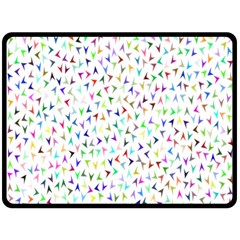 Pointer Direction Arrows Navigation Fleece Blanket (large)  by Amaryn4rt