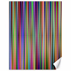 Striped Stripes Abstract Geometric Canvas 18  X 24