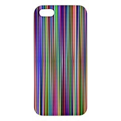 Striped Stripes Abstract Geometric Apple Iphone 5 Premium Hardshell Case