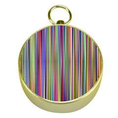 Striped Stripes Abstract Geometric Gold Compasses by Amaryn4rt