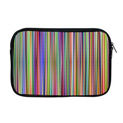 Striped Stripes Abstract Geometric Apple Macbook Pro 17  Zipper Case