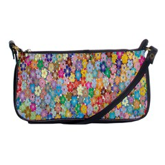 Sakura Cherry Blossom Floral Shoulder Clutch Bags by Amaryn4rt