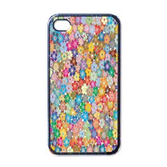 Sakura Cherry Blossom Floral Apple Iphone 4 Case (black)