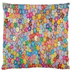 Sakura Cherry Blossom Floral Large Cushion Case (one Side) by Amaryn4rt
