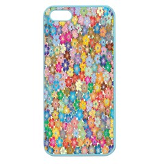 Sakura Cherry Blossom Floral Apple Seamless Iphone 5 Case (color) by Amaryn4rt
