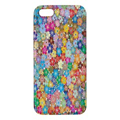 Sakura Cherry Blossom Floral Iphone 5s/ Se Premium Hardshell Case by Amaryn4rt