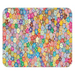 Sakura Cherry Blossom Floral Double Sided Flano Blanket (small)