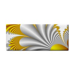 Fractal Gold Palm Tree  Cosmetic Storage Cases by Amaryn4rt