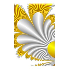 Fractal Gold Palm Tree  Shower Curtain 48  X 72  (small)