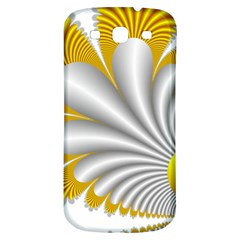Fractal Gold Palm Tree  Samsung Galaxy S3 S Iii Classic Hardshell Back Case