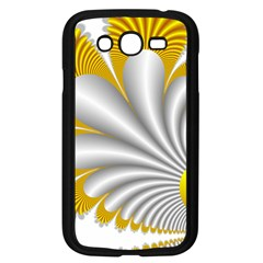 Fractal Gold Palm Tree  Samsung Galaxy Grand Duos I9082 Case (black)