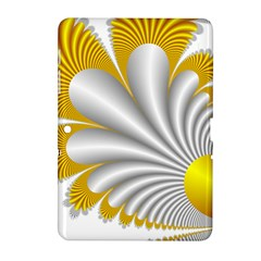 Fractal Gold Palm Tree  Samsung Galaxy Tab 2 (10 1 ) P5100 Hardshell Case