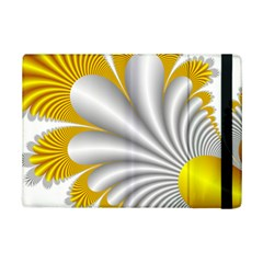 Fractal Gold Palm Tree  Ipad Mini 2 Flip Cases
