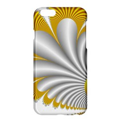 Fractal Gold Palm Tree  Apple Iphone 6 Plus/6s Plus Hardshell Case by Amaryn4rt