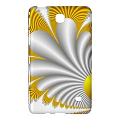 Fractal Gold Palm Tree  Samsung Galaxy Tab 4 (7 ) Hardshell Case