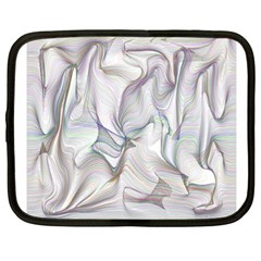 Abstract Background Chromatic Netbook Case (large) by Amaryn4rt