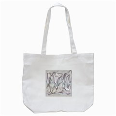 Abstract Background Chromatic Tote Bag (white)