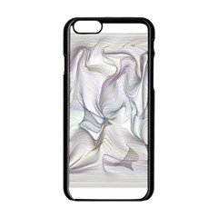 Abstract Background Chromatic Apple Iphone 6/6s Black Enamel Case