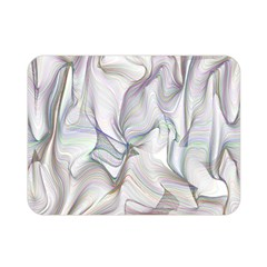 Abstract Background Chromatic Double Sided Flano Blanket (mini)