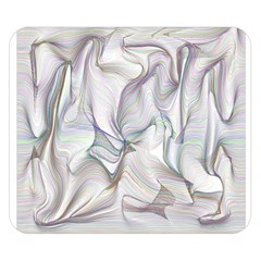 Abstract Background Chromatic Double Sided Flano Blanket (small)