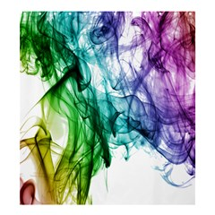 Colour Smoke Rainbow Color Design Shower Curtain 66  X 72  (large)