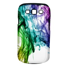 Colour Smoke Rainbow Color Design Samsung Galaxy S Iii Classic Hardshell Case (pc+silicone)