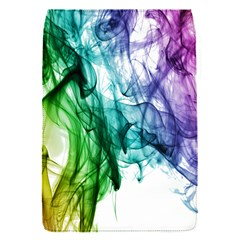 Colour Smoke Rainbow Color Design Flap Covers (s)  by Amaryn4rt