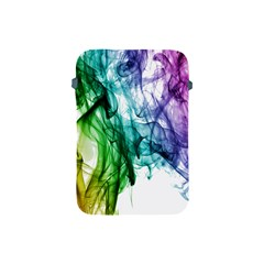 Colour Smoke Rainbow Color Design Apple Ipad Mini Protective Soft Cases by Amaryn4rt