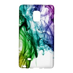 Colour Smoke Rainbow Color Design Galaxy Note Edge by Amaryn4rt