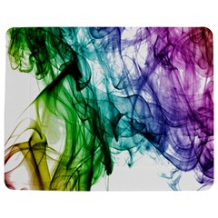Colour Smoke Rainbow Color Design Jigsaw Puzzle Photo Stand (rectangular) by Amaryn4rt