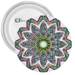 Decorative Ornamental Design 3  Buttons by Amaryn4rt