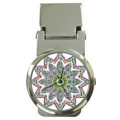 Decorative Ornamental Design Money Clip Watches by Amaryn4rt