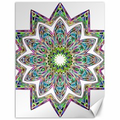 Decorative Ornamental Design Canvas 12  X 16   by Amaryn4rt