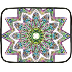 Decorative Ornamental Design Double Sided Fleece Blanket (mini)  by Amaryn4rt