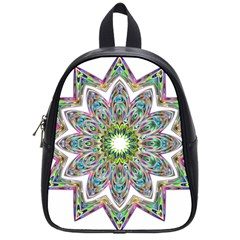 Decorative Ornamental Design School Bags (small)  by Amaryn4rt