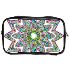 Decorative Ornamental Design Toiletries Bags 2 Side by Amaryn4rt