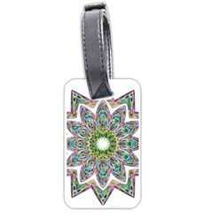 Decorative Ornamental Design Luggage Tags (one Side)  by Amaryn4rt