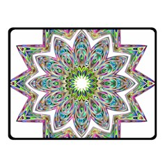 Decorative Ornamental Design Double Sided Fleece Blanket (small)  by Amaryn4rt