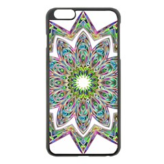 Decorative Ornamental Design Apple Iphone 6 Plus/6s Plus Black Enamel Case by Amaryn4rt