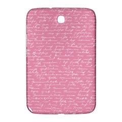 Handwriting  Samsung Galaxy Note 8 0 N5100 Hardshell Case