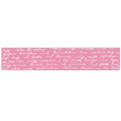Handwriting  Flano Scarf (large) by Valentinaart
