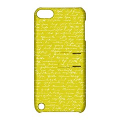 Handwriting  Apple Ipod Touch 5 Hardshell Case With Stand