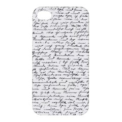 Handwriting  Apple Iphone 4/4s Hardshell Case by Valentinaart