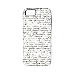 Handwriting  Apple Iphone 5 Classic Hardshell Case (pc+silicone)